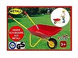 Izzy Kinderschubkarre aus Metall mit TÜV/GS, Belastbarkeit bis 35 kg, sehr stabil