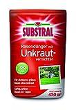 Substral Rasendünger mit Unkrautvernichter - Profiqualität mit 100 Tage Langzeitwirkung und Unkrautvernichtung in einem Arbeitsgang - 9 kg für 450 m²