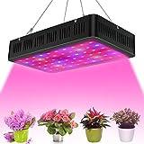 Niello 2000W LED Pflanzenlampe Doppel-10W-Chips LED Grow Light Vollem Spektrum LED Wachstumslicht 200 LEDs Pflanzenlicht Grow Lamp mit UV & IR und mit Rope Hanger für Zimmerpflanzen,Gemüse und Blumen