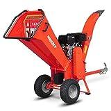 HECHT Benzin-Häcksler 6642 Gartenhäcksler Holz-Schredder ,11,2 kW 15 PS