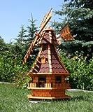 Supergroße Windmühle, Windmühlen rot Typ 6.1 mit Gauben behandelt