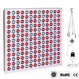 Roleadro LED Pflanzenlampe mit Zeitschaltuhr 75w Pflanzenlicht Led Grow Lampe mit Rot Blau Licht pflanzenleuchte fur Pflanzen Wachstum im Gewächshaus Wachstumslampe
