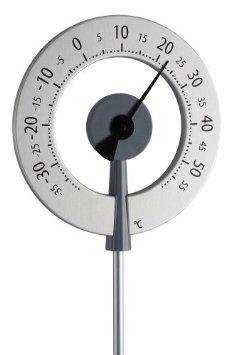 2. TFA Dostmann Lollipop analoges Design-Gartenthermometer