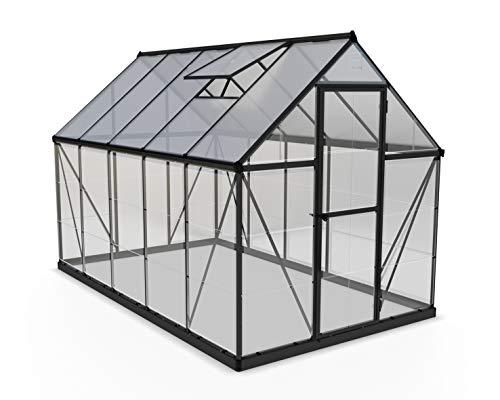 3. Palram Aluminium Gewächshaus Gartenhaus Hybrid 6x10