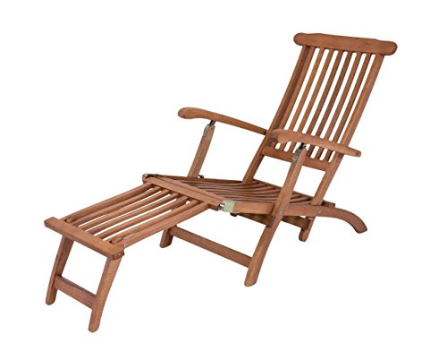 2. Garden Pleasure Deckchair PHOENIX