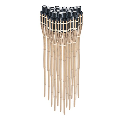3. Timtina Gartenfackel Bambus