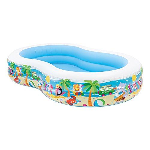 2. Intex 56490 - Aufblasbarer Pool Swim Center Paradise