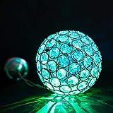 Solarbetriebene Farbwechsel Hängend Kugel Licht - Wasserfest Solarlampen mit Eingebaut Nachtsensor und Kette - Solarleuchten / Solar Lampen / Solar Laterne für Außen, Draußen, Garten, Zaun, Terrasse