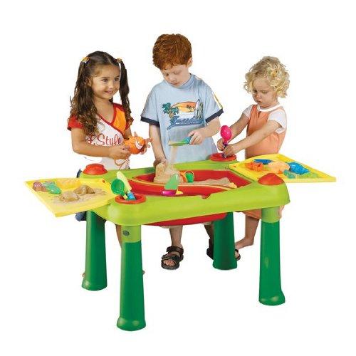 3. Keter 17184058 - Kinder Spieltisch Sand and Water