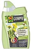 Compo Unkrautvernichter Herbistop, gegen Unkruter, Algen und Moose, 1000 ml