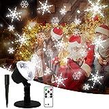 SMITHROAD LED Projektionslampe 12 Verschiedene Muster Strahler fr Halloween Karneval Weihnachten Innen & Auen Garten Wand Beleuchtung IP65