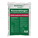 25 kg Rasendünger mit Unkrautvernichter (830m²) Langzeitwirkung Beckmann