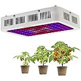 1000W LED Pflanzenlampe Vollspektrum LED Grow Light Pflanzenlicht UR IR Rot&Blau Wachstumslampe Pflanzenleuchte für Zimmerpflanzen,Gemüse,Blumen und Gewächshaus Pflanze,EU Plug(10W leds)MEHRWEG