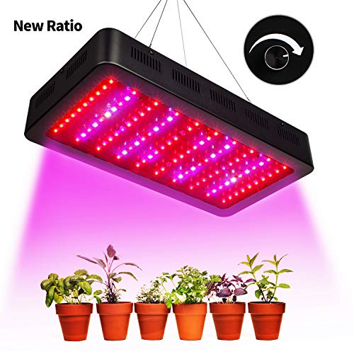 3. TOPLANET Dimmbare 300w Pflanzenlampe