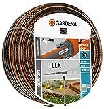 Gardena Comfort FLEX Schlauch 19 mm (3/4 Zoll), 50 m: Formstabiler, flexibler Gartenschlauch mit Power-Grip-Profil, aus hochwertigem Spiralgewebe, 25 bar Berstdruck, ohne Systemteile (18055-20)