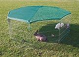 Trixie 6243 natura Freilaufgehege mit Schutznetz, ø 210 × 75 cm